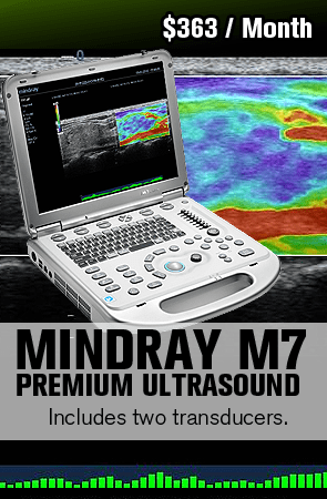 Shop ultrasound machines for sale sorted by medical application