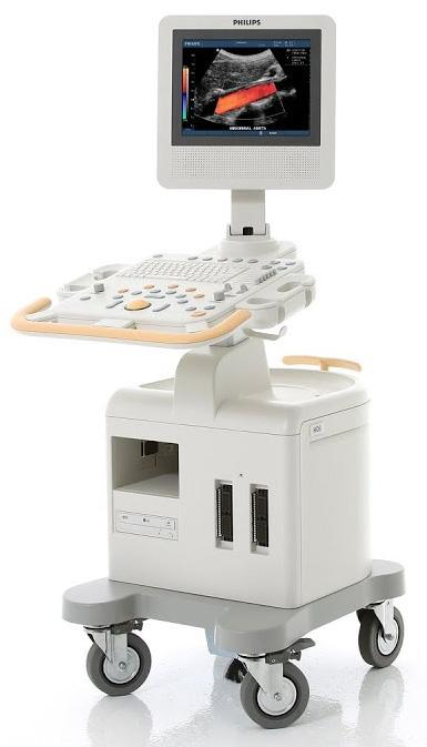 Philips HD3 ultrasound console machine