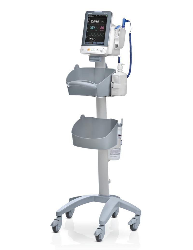 mindray vs 900c vital sign monitor system machine with cart 800px